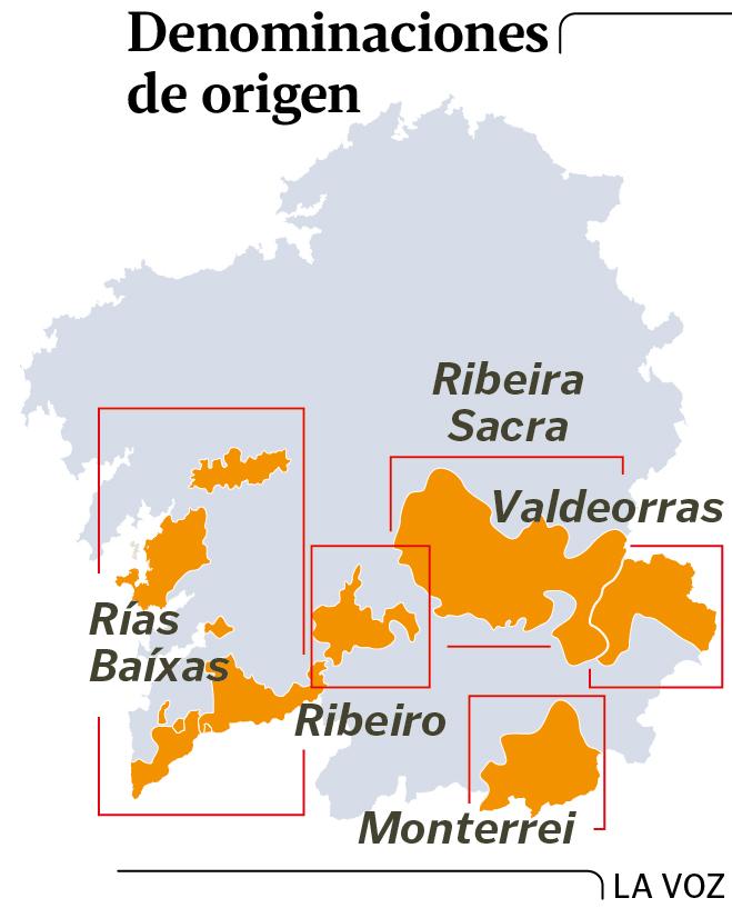 Los vinos gallegos en la carta del Restaurante El Refugio