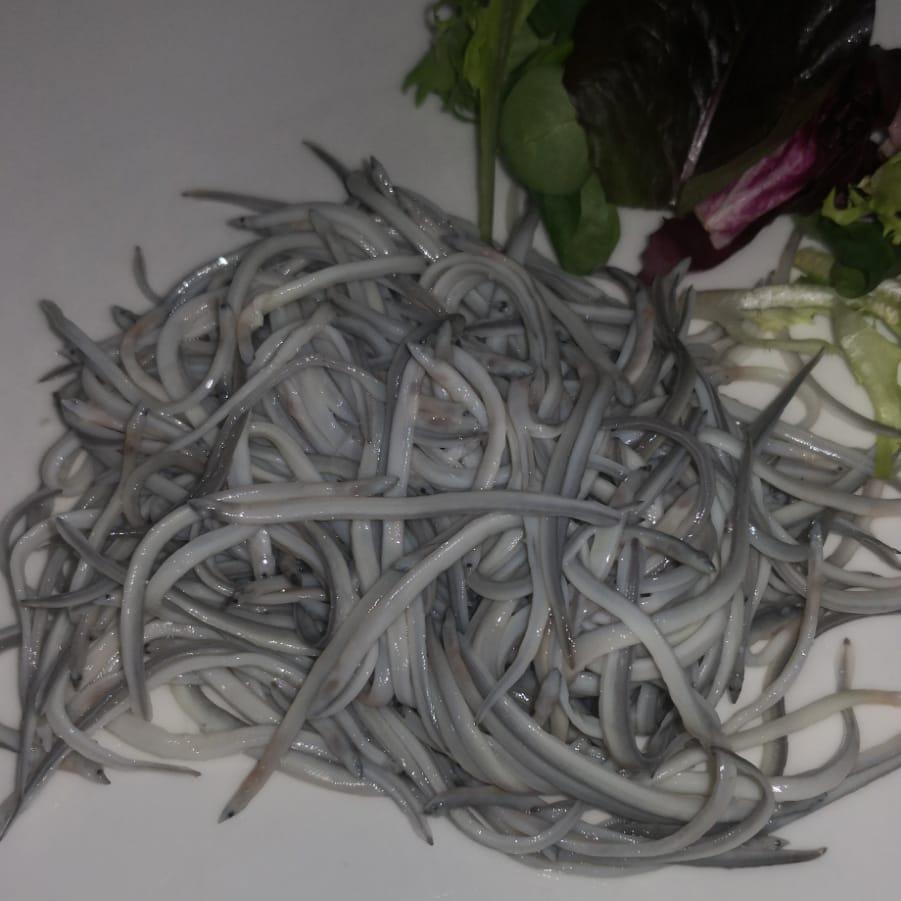 Las angulas ya disponibles en el Restaurante El Refugio